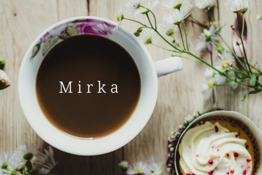 Mirka's photos.