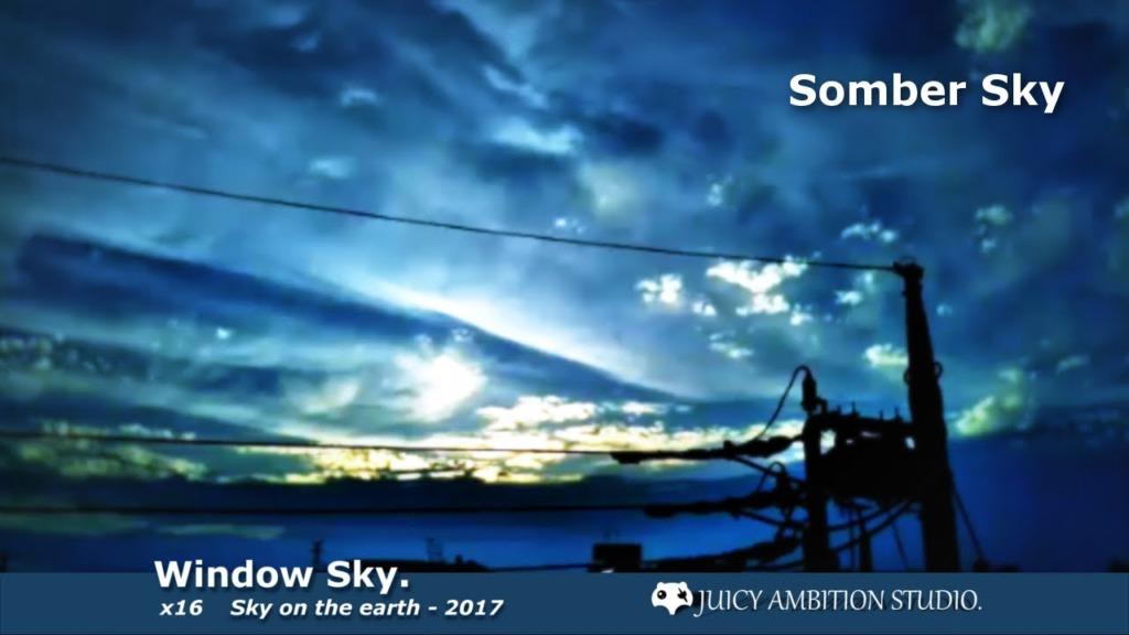 Relax Window sky - Jun 09 2017 Time lapse