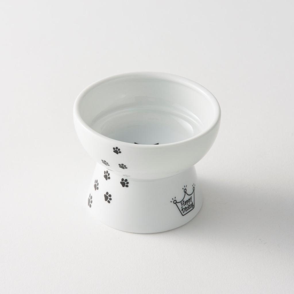 猫壱 猫 食器 おやつ皿 猫柄 陶器食器